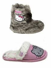 Girls Kids Infant Hello Kitty Character Bootee Slipper Mule Shoe Size SALE