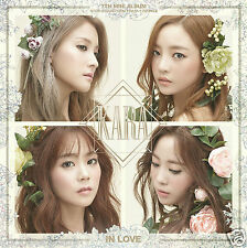 KARA - IN LOVE (7th Mini Album) CD+44p Booklet+Poster K-pop