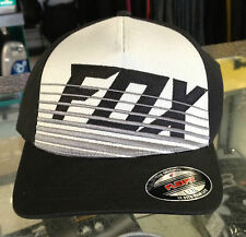 "FOX MENS SIZE CAP ""SAVANT"" FLEX FIT MX MOTORCROSS SKATE ROUNDED PEAK"