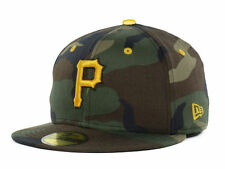 Pittsburgh Pirates New Era 59Fifty Fitted MLB Camo Camouflage Baseball Hat Cap