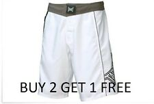 TapOut Delta MMA White UFC Board/Fight/Grappling Shorts BUY 2  GET 1 FREE
