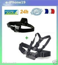 Bandeau harnais tete torse GOPRO HERO Bandeau Harness chest head