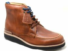 Rockport Eastern Empire Moc Toe Tan Leather Mens Casual Lace Up Boots SA12360
