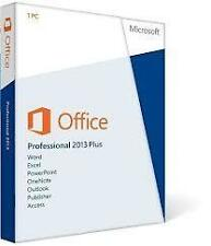 Microsoft Office 2013 Professional Plus Activation Key 1 PC/1 USER FAST SHIPPING