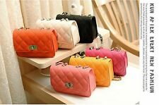 New Fashion Women Messenger Bag PU Leather Crossbody Satchel Shoulder Handbag