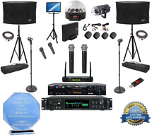 RSQ Professional Karaoke Player and DJ system free music and light show
