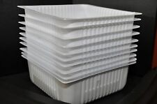 "Plastic Containers, Storage Bins Tubs 10""x10""x4"", Scrapbook,  Crafts"