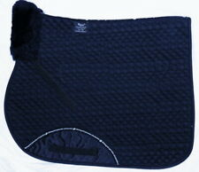 RHINEGOLD Quilted Jumping Forward Cut GP SaddleCloth Sheepskin Wither Pad Saddle