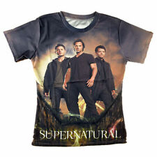 Supernatural 3D All Over Printed Tops T-shirt for Men Women