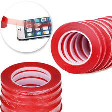 25M Red Liner Clear Double-sided Adhesive Tape Glue Sticky For LCD Screen Repair