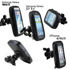 Bike Bicycle Waterproof Phone Case Bag Pouch Handlebar Mount For Mobile Phones