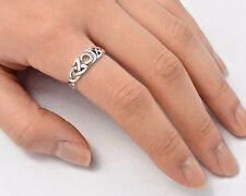 Silver Celtic Moon Ring Sterling Silver 925 Bestseller Jewelry Selectable