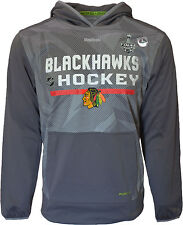 Chicago Blackhawks 2015 Stanley Cup Playoffs Finals Hoodie PlayDry NHL Pullover
