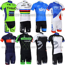 2015 BIKE Cycling Jersey Bicycle TEAM Logo Clothing Short Sleeve Suit CoolMax