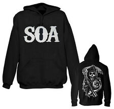 Sweat Capuche Sons Of Anarchy SOA Face & Reaper Patch dos Hoodie _01_00002