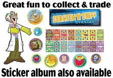 Dr. Stinky's Collectable Scented Scratch-N-Sniff Stickers - 42 varieties