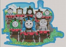 Counted Cross Stitch Pattern or Kit, Thomas the Tank Engine