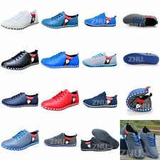 England Mens Boys Sport Running Shoes Gauze/Leather Casual Shoes Sneaker New