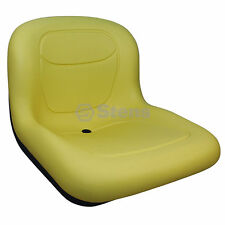 Replacement Mower Seat John Deere GX SR SRX Yellow AM123666