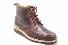 Rockport Eastern Empire Moc Toe Burgundy Leather Mens Casual Boots SA12361
