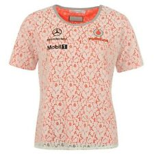 TOP TShirt Ladies Lace Formula One 1 Vodafone McLaren Mercedes F1 New U|S