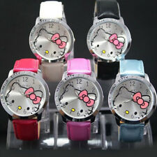 New lovely hello KT Girls Ladies Wrist Quartz Watch Nice Kid's gift hellokitty