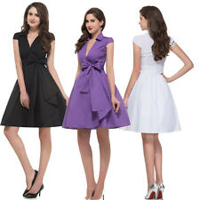 GK VICTORIAN Classy Rockabilly Swing 1950s 60s Evening Jive Pinup Retro Dresses