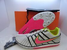 New Nike Zoom Rival D 6 Track Field Running Spikes Women's Men 4568651 160 White