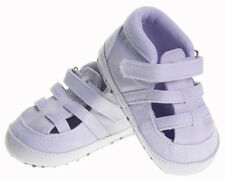 Infant Baby boy Girl white crib shoes sandals shoes size 0-6 6-12 12-18 months