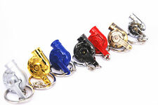 1pc, Metal Car Keychain Ring Auto Parts Turbo Turbine CHARGER COMPRESSOR BEARING