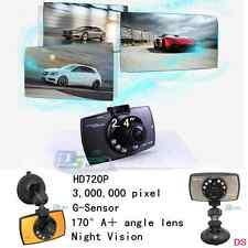 High Definition TFT 720P Car DVR 170° Wide-angle Camera Recorder Night Vision