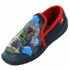 Boys Angry Birds Blue Space Slippers CLEARANCE