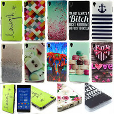 New Rubber Soft TPU Silicone Phone Back Case Cover For Sony Xperia Z3 Z3 Compact