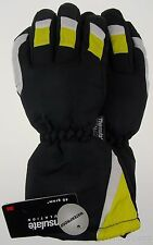Joe Boxer Boys Yellow Black Ski Gloves 3M Thinsulate Waterproof Snow Winter NEW