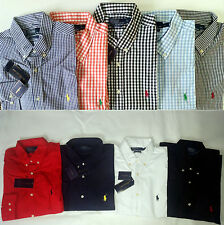 Polo by Ralph Lauren Business Freizeit Hemd Shirt Oxford SLIM FIT