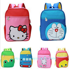 Baby Toddler Kids Girls Boys Cartoon Backpack Shoulder Pre School Bag Rucksack