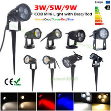 3W 5W 9W LED Landscape Garden Wall Yard Path Pond Flood Spot Light Lamp Bombilla