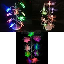 LED Artificial Bonsai Tree Colorful Light Ornament Table Lamp Decor Home Hotel