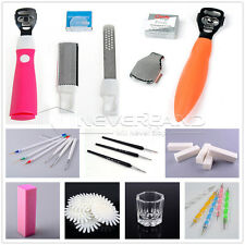 Nail Art UV Acrylic Buffer File Pen Brush Display Wheel Sticker Forms Tips Tool