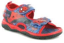 SPIDERMAN Sandals Boys Size 7 8 9 10 11 12 13 1 Blue Red Beach New Shoes