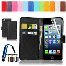 New Wallet Flip Leather Phone Case Cover For iPhone6 6Plus 5 5S 4 4S Free Gift
