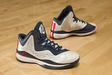 ADIDAS 773 3 DERRICK D ROSE MENS RED WHITE BLUE USA OLYMPIC BASKETBALL SHOES 12
