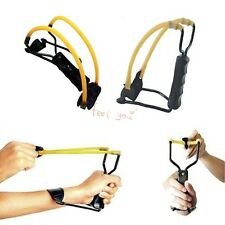 WRIST-LOCK CATAPULT HANDLE GRIP SLINGSHOT SHOOTING HUNTING CAMPING OUTDOOR