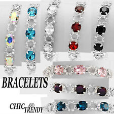 STUNNING CRYSTAL BRACELETS, FORMAL, WEDDING, PROM* CHIC & TRENDY JEWELRY SETS