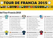 ROPA CICLISMO EQUIPOS TOUR FRANCE 2015 VERANO MAILLOT CULLOTE CYCLING CLOTH