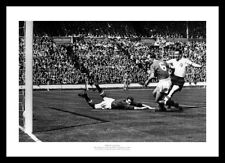 Nat Lofthouse Bolton Wanderers 1958 FA Cup Final Goal Photo Memorabilia (427)