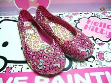 Hello Kitty Kids Girls PVC Water Flats Shoes KT568 Color Pink- Free Shipping