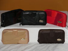 A Tradtional Patchwork Leather Wallet Change Card Organiser Purse.
