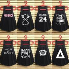 Black tank top word t shirt tumblr graphic tunic vest hipster clothes singlet