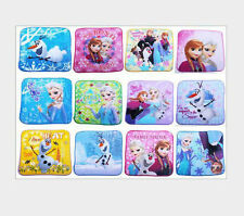 Select More 12Pcs Frozen Elsa  20 X 20cm children Hand Towel Face Towels Choose